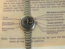 Rare Vintage Seiko Bellmatic: 4006-6021. UFO. Original and fully working