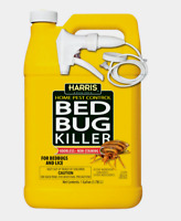 Harris BED BUG KILLER Home Pest Control Indoor Insect Lice Kitchen Bedroom 1 Gal