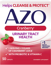 AZO Urinary Tract Health Cranberry 50 Caps Exp:12/21