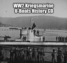 WW2 German Navy Kriegsmarine Hitler U-Boats Submarine Warfare Diary History CD