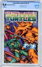 Teenage Mutant Ninja Turtle  #6  CBCS  9.4  NM  White pgs   2/86  Fugitoid & the