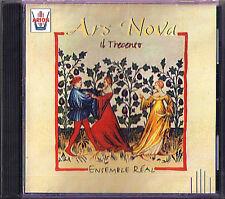 ENSEMBLE REAL Ars Nova Il Trecento 14th Century Italian Music CD NEU