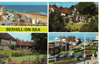 Sussex Postcard - Views of Bexhill-on-Sea - Sussex - Ref 8102A