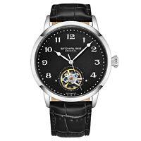 Stuhrling Men's 781.02 Skeletonized Open Heart Automatic Self Wind Luxury Watch
