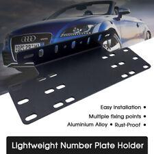 New Number Plate Holder Mount Bracket Car LED Driving Light Bar Licence