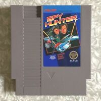 NES Spy Hunter Nintendo 5-Screw Cartridge Cleaned & TESTED Fast Ship! VG Cond
