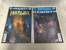 Hellblazer Rebirth One Shot and Hellblazer #1 DC Comics Rebirth 2016 VF+