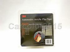3m 80320 - Nastro Biadesivo ACR Car Double-sided Tape 12mm x 20mt Nero Black