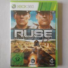 XBOX 360 - Microsoft ► R.U.S.E. - Don't Believe what you see ◄ NEU & OVP