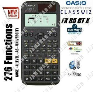 Casio FX-85 GTX Dual Powered Scientific Calculator 276 Functions - BLACK