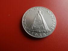 * Österreich 5 Schilling 1936 Silber * Magna Mater (53)(Alb.2)