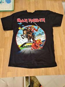 Iron Maiden T Shirt 2013 Donnington Bridge Rare Download Festival