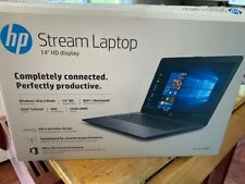 NEW OPEN BOX HP Stream 14-cb164wm 14 inch 32GB Intel Celeron N, 1.10 GHz 4GB