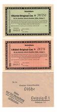Lotterielose Coca-Cola Lösche Leipzig 1930er (B5