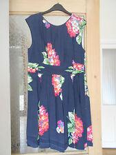 Petite Viscose Floral Knee Length Dresses for Women