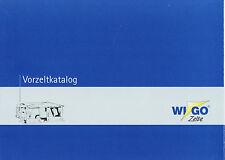 Prospetto Wigo veranda catalogo 2008 catalogo opuscolo vorzelte broschyr CAMPEGGIO