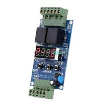 DC12V Dual Programmable Relay Control Board Cycle Delay Timer Switch Module MF