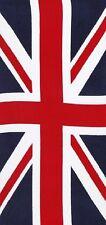 "United Kingdom Flag Beach Towel - 30"" x 60"" - Velour - Made In Brazil"