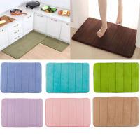 Bathroom Carpet Rug Memory Foam Mat Non Slip Water Absorbing Bedroom Floor Mat