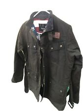 Barbour Steve Mcqueen jacket xxl youths kids Excellent Condition wax
