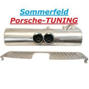 SMART ForTwo 450 0,7 Auspuff Sportauspuff 200 Cell Sport Exhaust Muffler