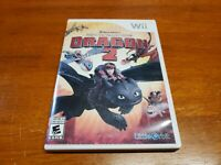 How to Train Your Dragon 2 (Nintendo Wii, 2014) CIB Complete TESTED