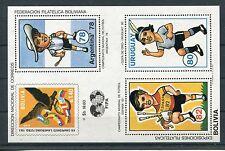 Bolivien Block 98 postfrisch / Fußball ...................................1/1697
