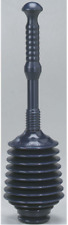 "Master Toilet Plunger 21.5"" Long Funnel Nose Unclogs FITS ALL BOWLS MP100-1 NEW"
