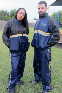 Unisex ~ Sauna Sweat Suit ~ Dual Layer ~ Fitness Weight Loss Exercise Training