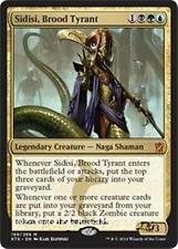 SIDISI, BROOD TYRANT Khans of Tarkir MTG Gold Creature — Naga Shaman Mythic Rare