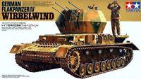 Tamiya 35233 1/35 Scale Military Model Kit WWII German Flakpanzer IV Wirbelwind