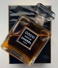 Chanel COCO PARFUM 30 ml 1 FL OZ flacon en cristal VINTAGE