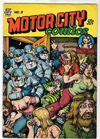 1970 Motor City Comics #2 Published by Rip Off Press R. Crumb