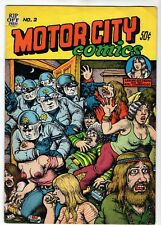 1970 Motor City Comics #2 Published by Rip Off Press R. Crumb