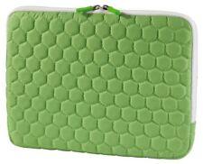 "Hama netbook-bolsa cover Hexagon verde para 11,6"" 11"" Notebook-, funda protectora, funda sleeve"