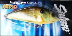 SALMO FATSO Floating 10 cm, 47 g, RS (Real Sunfish) color