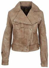BELSTAFF Damen Leder Jacke Leather Jacket HOWARD AVIATOR BLOUSON LADY ANTIQUE