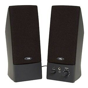 CYBER ACOUSTICS, Cyber Acoustics CA-2016WB Computer Speaker System Works w/usb