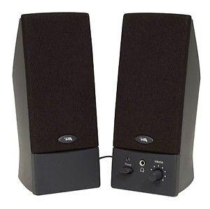 CYBER ACOUSTICS, Cyber Acoustics CA-2014WB Computer Speaker System Works w/mac