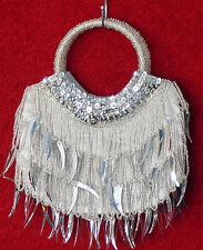 hand bags from beads and sequins,black,silver,gold,green,red,pink,cream,grey