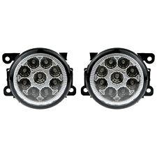 NEW 2Pcs White LED Fog Lights Driving Lamps for Ford Focus 2007-2013 Fog Lamp