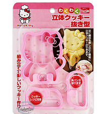 Sanrio HELLO KITTY Cookie Sandwich MOLD Stamp Cutters Mould kitchen tool ladies