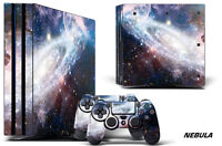 Skin Decal Wrap For PS4 PRO Playstation 4 Pro Console + Controller Stickers NBLA