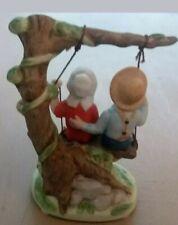 "Norman Rockwell 1984 Porcelain Figurine ""Summer Fun"" Norman Rockwell Museum"