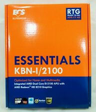 ECS KBN-I/2100 AMD E1-2100 Dual-Core APU HD 8210 Mini ITX Motherboard/CPU Combo