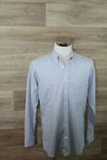 Eddie Bauer Men's button front casual shirt long sleeve Tall Slim Fit