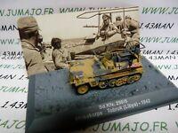 PZ5U Tank militaire 1/72 PANZER n°5 SdKfz 250/5 Afrikakorps Lybie Tobrouk 1942