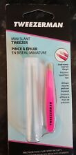 NEW Tweezerman Brows Mini Slant Tweezers Neon Pink Brand new rrp£16