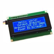 For Arduino Blue Serial IIC/I2C/TWI 2004 204 20X4 Character LCD Module Display