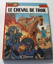 ALIX . 19 . Le cheval de Troie avec MAQUETTE . JACQUES MARTIN . BD EO CASTERMAN